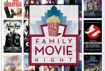 Family Movie Night / Great family-friendly movies and fun activities for movie night.