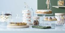 Bake Off / Present sweet and savoury baking with mouthblown cakestands, serving domes that combine glass and natural wood, or handmade bonbon jars.