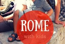 Rome with kids / Enjoy Rome as a family: things to do, to see, where to eat and much more to enjoy your trip! Selected by an insider french mom of 3 living in Rome