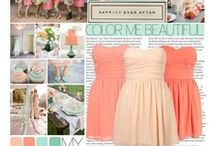 Coral or peach wedding inspiration / Coral wedding inspiration, mint and peach wedding, mint green and coral wedding ideas, mint and peach ideas