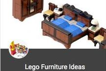 DIY ~ Lego Furniture Ideas / Furniture Ideas for your Moc's or Noc's