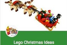 DIY ~ Lego Christmas Ideas / Looking for something creative to do with the kids during the Holidays?  Try some of these Lego Building Ideas.  To make in bulk to give away as gifts please visit our store for extra parts.