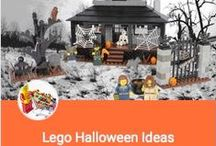 DIY ~ Lego Halloween Ideas / Time to get ~~SPOOKY~~ with Lego!!