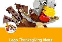 DIY ~ Lego Thanksgiving Ideas / Time to Gobble Up some Great Lego Thanksgiving Builds!!