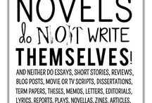 Writing Stuff / things that writers need to know, or do