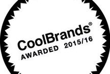 We Are A CoolBrand / The CoolBrands are chosen by the Expert Council and 2,500 members of the British public.