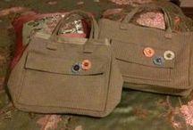 Çanta Dikimlerim / Kot Çanta