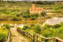 """Tesouros do Ribatejo - Portugal / Ribatejo também apelidado de """"Borda d'Água""""ou """"Beira do Tejo"""" possui paisagens de rara beleza natural e rural onde se avistam até ao horizonte vastas planícies.  Esta região é marcada pelo """"fandango"""", uma música regional dançada ao desafio por um par de campinos. Saiba mais em: www.asenhoradomonte.com"""