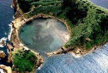 Tesouros dos Açores - Portugal / Na imensidão azul do Atlântico a Mãe natureza criou o Arquipélago dos Açores, uma terra repleta de beleza natural e pronta a ser explorada em: www.asenhoradomonte.com