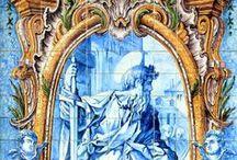 Azulejos Portugueses / A originalidade da utilização do azulejo português fez deste um caso único no mundo.  Com 500 anos de produção nacional fique a conhecer mais sobre este elemento decorativo e arquitetónico em: www.asenhoradomonte.com