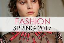 Fashion: Spring 2017 / The best off-the-runway looks from designer Spring/Summer 2017 collections. Fashion week, eat your heart out! xo