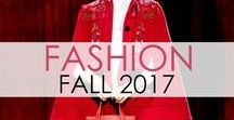 Fashion: Fall 2017 / Fall fashion season is upon us once again! These are my favorite looks from the Fall 2017 designer fashion runways around the world. xo