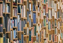 Bookshelves / I love bookshelves! / by Buffy Andrews