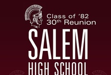 Salem High Class of 1982  / Things that take us back to high school. / by Kim Lombard
