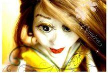 puppet-marionette-ooak art doll