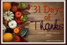 31 Days of Thanks