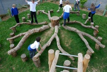 Outdoor Playground Ideas  / by Janee Sanders McConnell