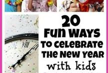 New Year's / Activities for kids on New Year's Eve