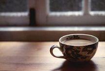 Coffee&Tea&Chocolate / Comfort in a hot, sweet drink. #coffee #coffeetime #tea #hotchocolate