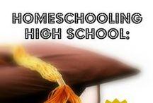 Homeschool High School / by Raising Little Rhodies