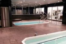 Professional and College Sports Teams: Great Aquatic Training and Conditioning Spaces / Great shots of training facilities that use SwimEx pools and plunge tanks for exercise and conditioning. / by SwimEx, Inc.