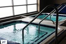 Hot & Cold Plunge Pools / Hot & Cold Plunge Pools.  The benefits of water for relaxation, recovery and revitalization.