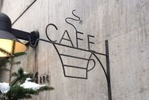 Café & Coffee Shop Experience / Coffee shops and Café's around the world