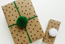 Homemade Christmas Gifts / DIY ideas for homemade holiday gifts