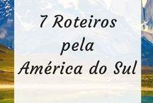 Roteiros de Viagem / Roteiros de viagem pela América Latina