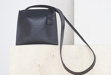CLEAR CUT / Leather bag collection / 2013