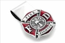 Firefighter Cufflinks / It is a rarity to find someone more dedicated to the lives of others than a firefighter. This section of cufflinks is dedicated to all those hard working firemen out there who brave those risky fires and risk their lives for others every single working day. In most cities around the United States, firefighters are trained members of government-supported organizations.