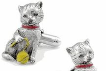 Animal Cufflinks / This section is dedicated to all the animal lovers out there who want to represent their furry friends via fashion. This eclectic, fun, novelty line from Cufflinksman features an array of animals,