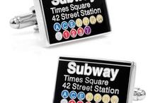Name Cufflinks / When no other pair will do, or when consumers are seeking something stylish and conversation-provoking, consider the name cufflinks offered by Cufflinksman. These fine, high-quality links will convey special messages or represent vintage eras with their timely and familiar slogans and motifs.