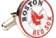 """Boston Cufflinks / he city that has already given us The Freedom Trail, Clam Chowder, """"Cheers"""" and Sam Adams beer is at it again! These attractive and tasteful Boston Cufflinks look like they could be on display at the Boston Museum of Fine Arts."""
