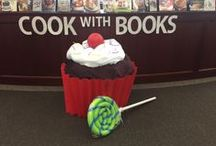 My displays / Displays that we have created at the Faulkner Library at Abington Friends School.