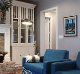 Using Color in Texas Homes / Trent Williams Construction Management designs and builds unique custom homes in Tyler and East Texas. Designs span the spectrum, from traditional to modern to ranch style. Color plays an important role in home design ... let's take a look at color in some recent homes.