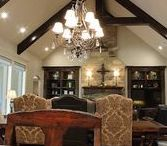Texas Living Spaces / We love living the Texas lifestyle! Trent Williams Construction Management has designed and built dozens of custom, unique living spaces in the East Texas marketplace. Designs span the spectrum, from traditional to modern to ranch style. Included in this board are a few highlights of recent living space designs and ideas.