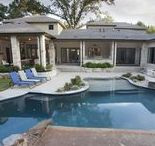 Texas Outdoor Living Design / Texans love life, indoors and outdoors. The mild climate in Tyler and East Texas make a perfect environment for enjoying outdoor living. Included on this board are a few scenes from recent Trent Williams homes, from pools to porches, from landscapes to outdoor cooking areas.