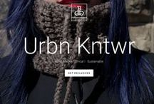 BGG Knits URBN KNTWR / A New Wave of URBN KNTWR. Inspired by the mountains of Peru, made for the streets of NYC. Raw Alpaca & Eco Cotton Hand Made + Ethical + Sustainable Bggknits.com