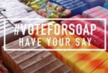 #VoteforSoap / The team at Stephenson Personal Care are busy formulating and developing new products but we NEED YOU to get involved!  In order to make sure we create the right products at the right time, we'd like you to decide and tell us which products you'd actually like to buy!