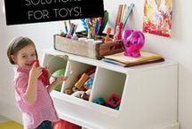 TOY STORAGE / What to do with so many toys? Here are some inspirational toy storage ideas