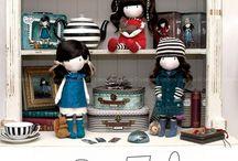 Bambole di stoffa / Clothdoll, pattern, dolls, bambole, pupazzi.....