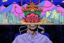 Trippy, Strange, Weird, Random Art & More / A Mix of Art That is Trippy,  Strange,  and Weirdness