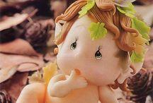 Bambole porcellana tutorial / Bambole in cernit, fimo e porcellana fredda