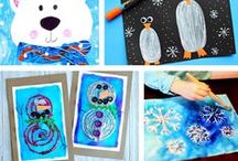 Winter Crafts - Kids / Winter kids crafts and activities. Winter experiments, games, projects and snacks. Indoor winter activities. Outdoor winter activities. Winter kids books and science.