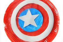 Superhero crafts - Kids / Superhero crafts and activities for kids. DIY Superhero projects for toddlers and preschoolers.