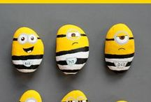 Minion crafts - Kids / Minion crafts. Minion snacks. Minion games for kids.