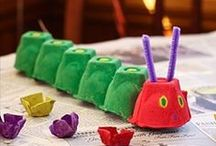 Egg carton crafts - Kids