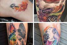 Animal Tattoos / The best of animal & pet tattoos