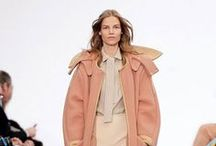 "Chloé Winter / Eclectic and playful, Chloé combines French sophistication with an English festival girl style for a carefree, sporty collection. ""It's about a poetic and charming way of putting things together, flirting with innocence from a place of strength,"" says Chloé's Creative Director Clare Waight Keller. More at chloe.com/winter / by Chloé"
